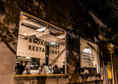 Broadsheet Pop-Up Restaurant