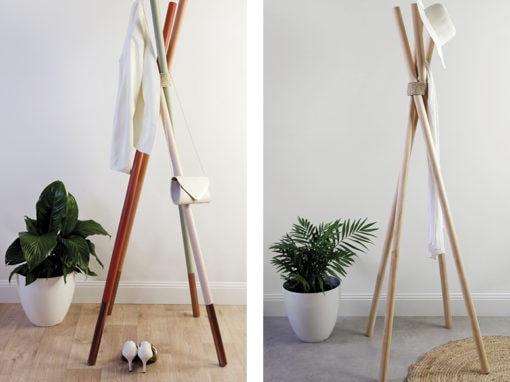 DIY: Make your own timber dowel coat rack