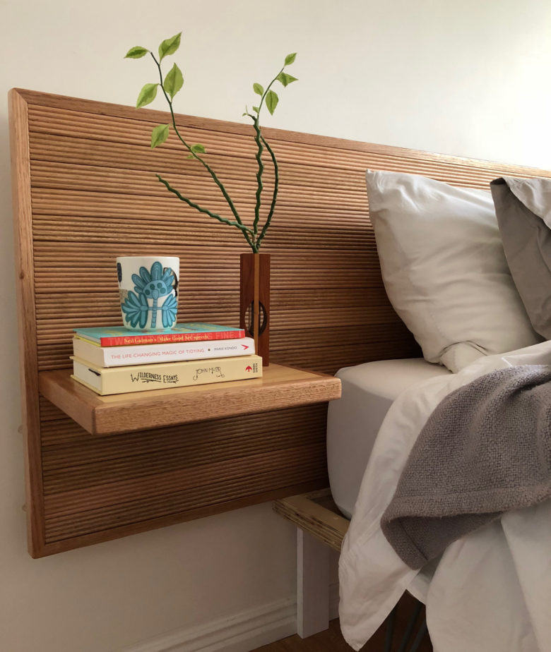 DIY: Make your own timber bedhead - Porta