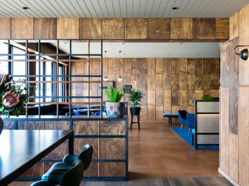 Timber adds nostalgic & modern feel to Mount Erica Hotel