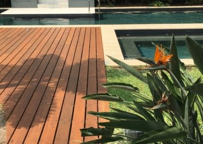 Porta Cumaru decking at Ocean Resort Kawana Waters