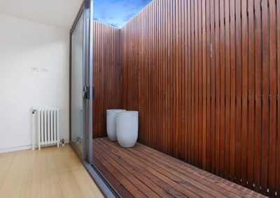 Porta Cumaru Hardwood - North Melbourne House - T8 Developments (9)