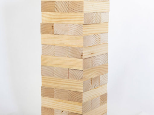 DIY: Make your own Giant Jenga
